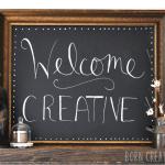 Welcome Creatives!