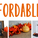 Affordable Fall Decorations