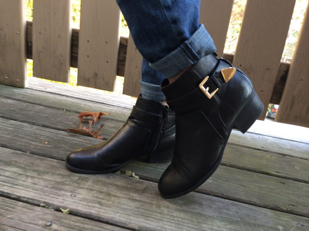 Black Fall Ankle Boots