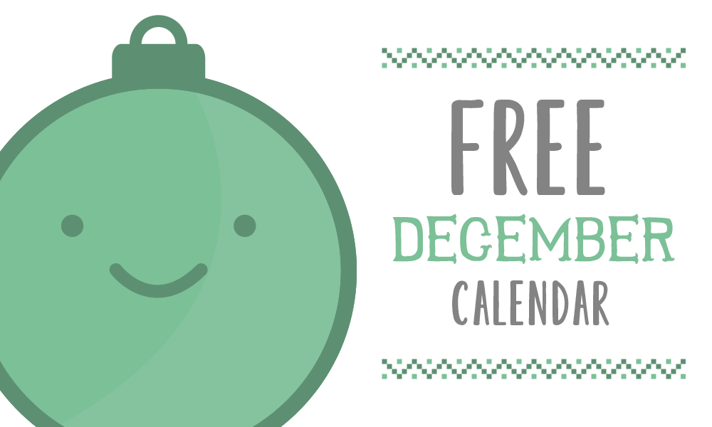 FREEBIE – December 2014 Calendar
