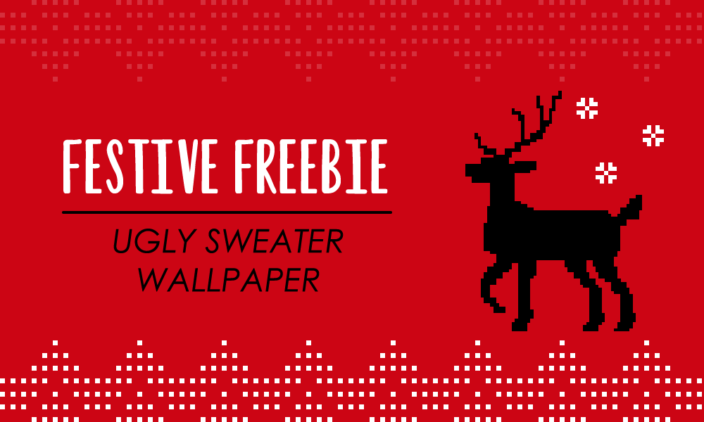 Festive Freebie – Ugly Sweater Wallpaper