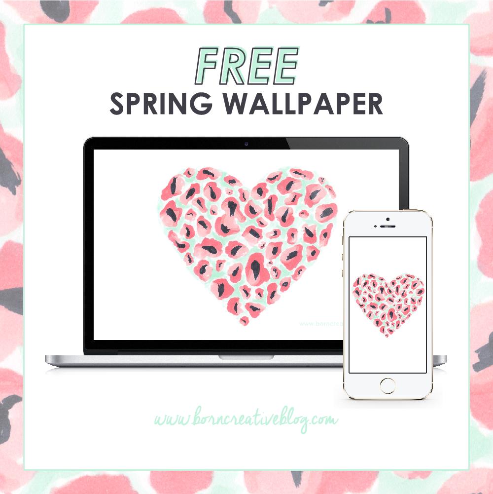 FREE Spring Wallpaper - Pastels & Peonies