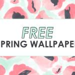 FREE Spring Wallpaper – Pastels & Peonies