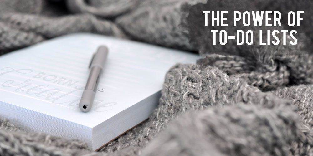 The Power of To-Do Lists