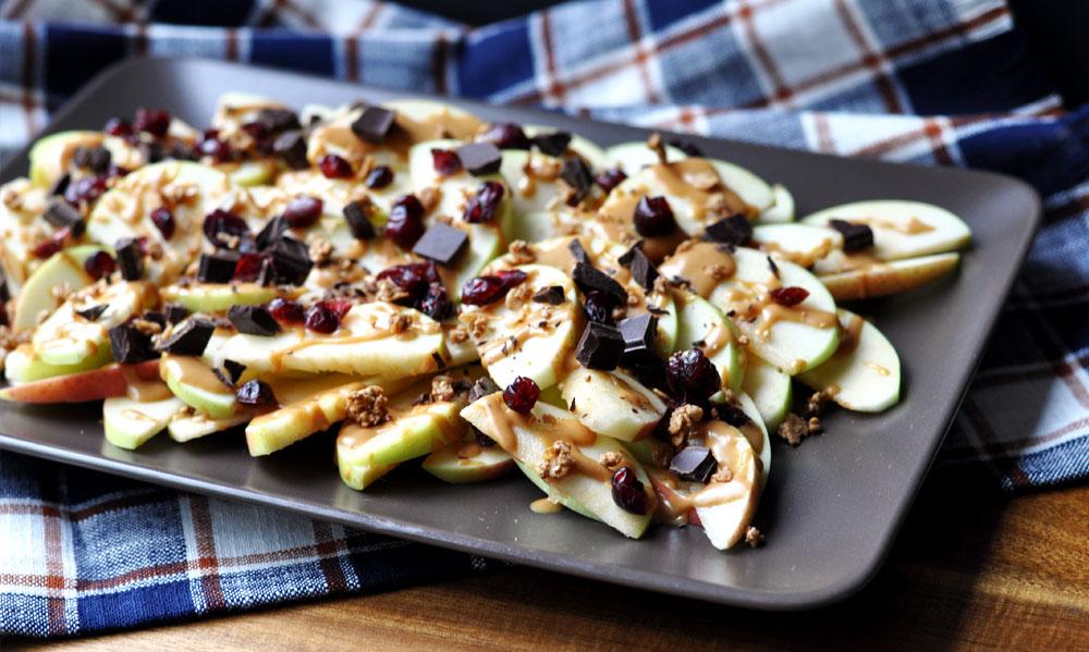 Simple & Healthy Apple Nachos