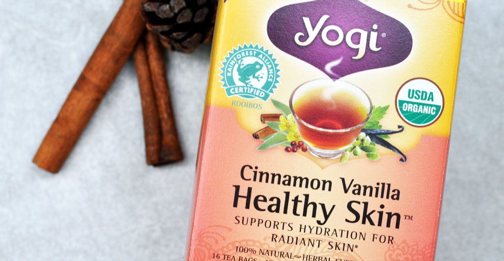 Top 5 Tea Varieties & Health Benefits - Cinnamon & Vanilla Tea to Support Healthy Skin