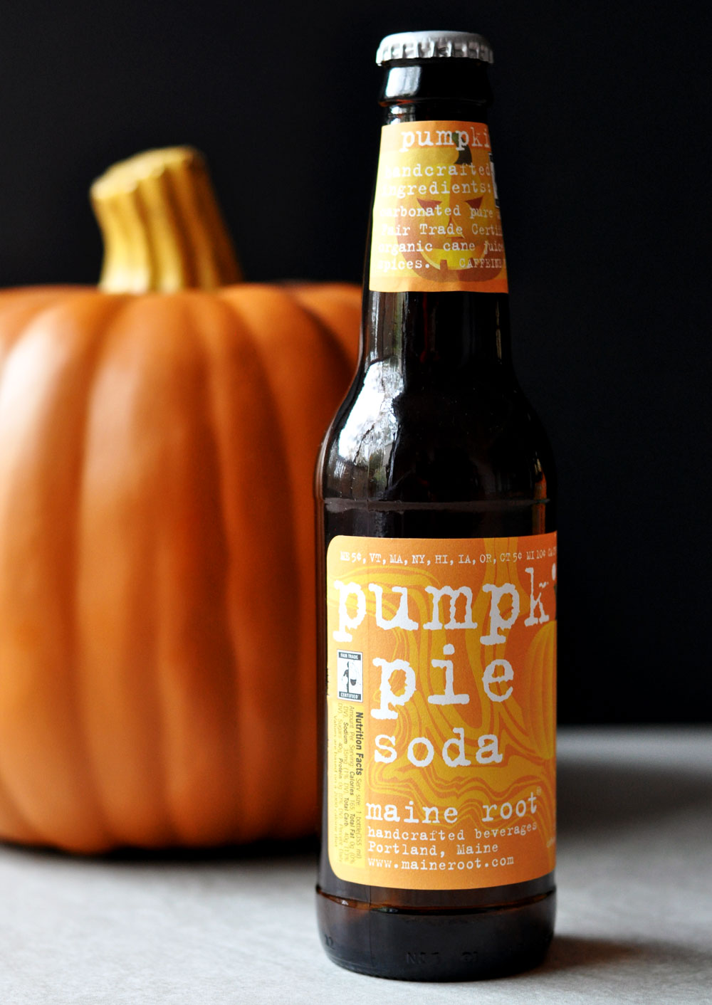 Maine Root Pumpkin Pie Soda - The perfect Fall drink