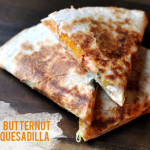 Roasted Butternut Squash Quesadillas