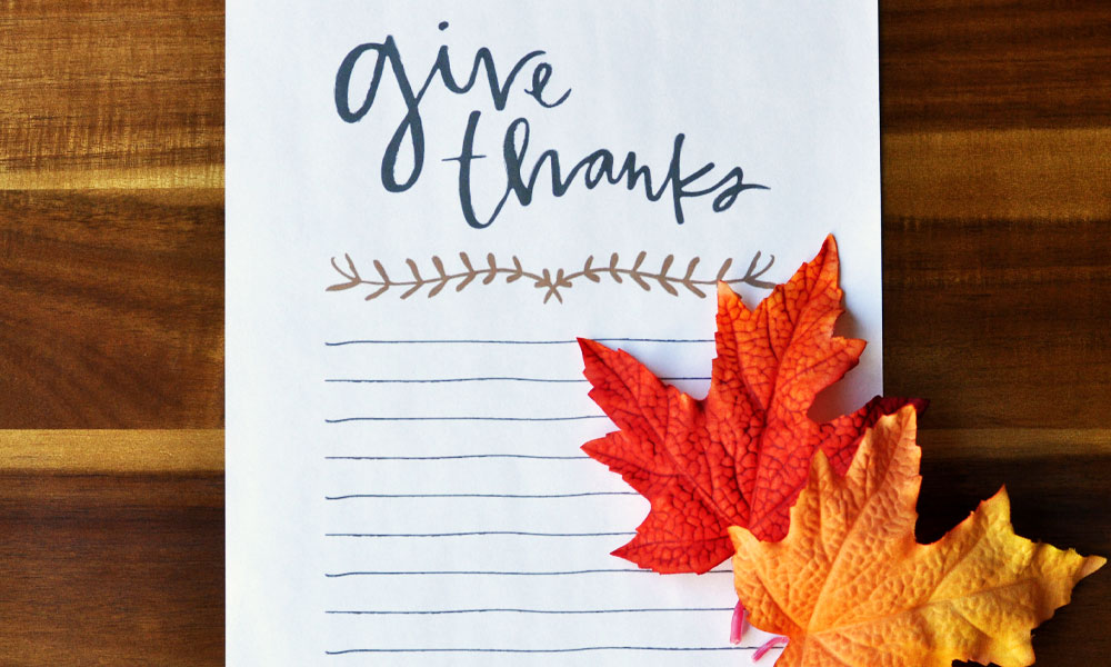 Give Thanks Free Printable Download - Happy Thanksgiving