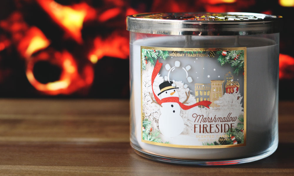 Top 3 Winter Candle Scents - Marshmallow Fireside