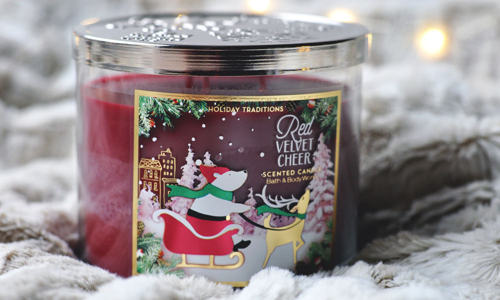 Top 3 Winter Candle Scents - Red Velvet Cheer