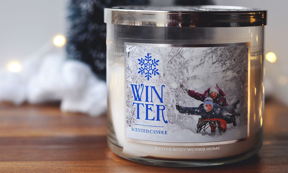 Top 3 Winter Candle Scents - Winter from Bath & Body Works