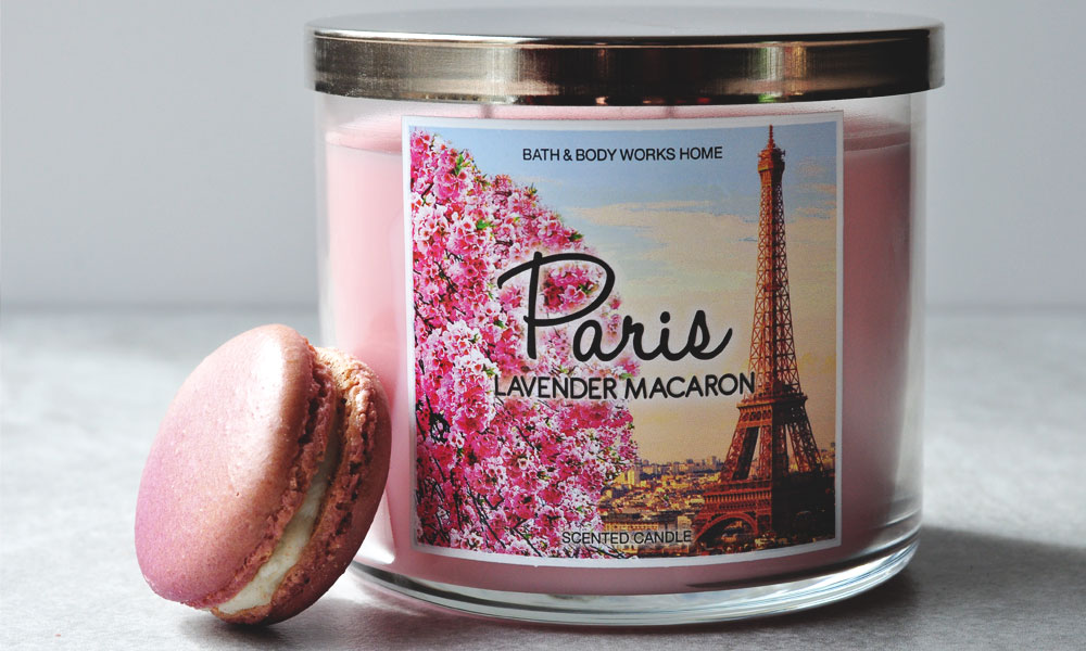 The Scent of Spring | Lavender Macaron from Bath & Body Works